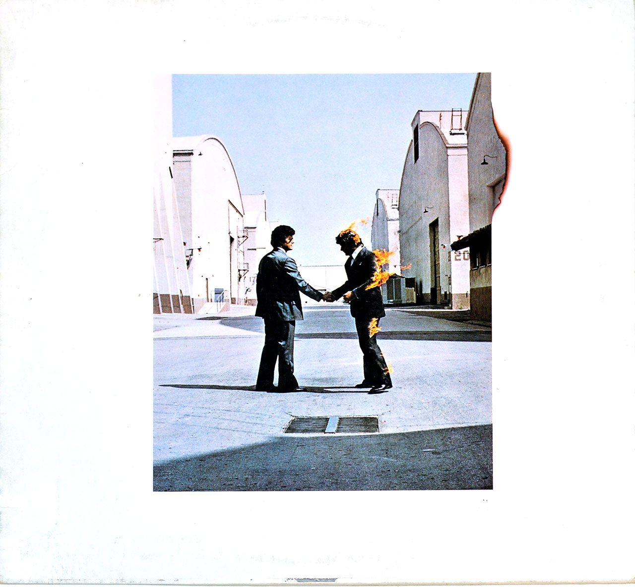 Album Front Cover Photo of PINK FLOYD WIsh You Were Here