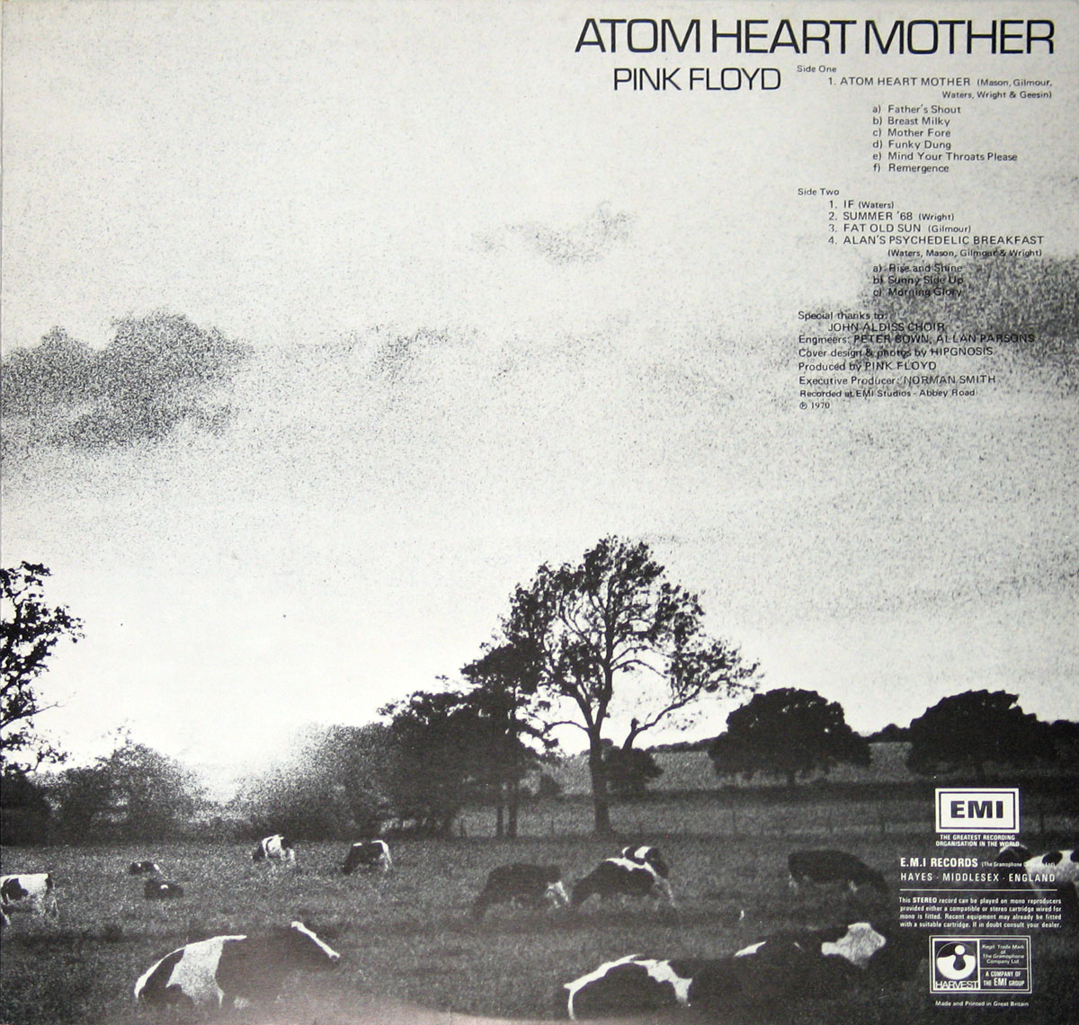 High Resolution Photo #4 PINK FLOYD Atom Heart Italy UKA4