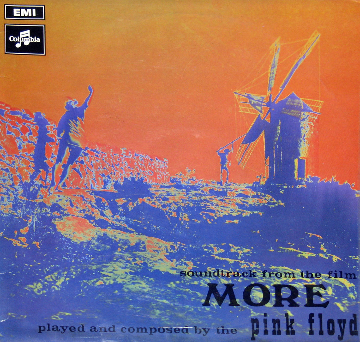 High Resolution Photo #1 Pink Floyd More Movie Soundtrack GB