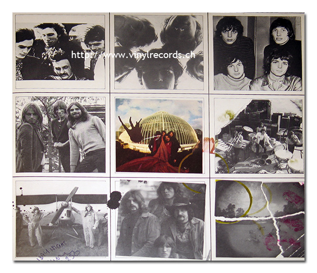 Photos of the LP's cover: PINK FLOYD - A Nice Pair, The Piper at the Gates of Dawn, A Saucerful of Secrets