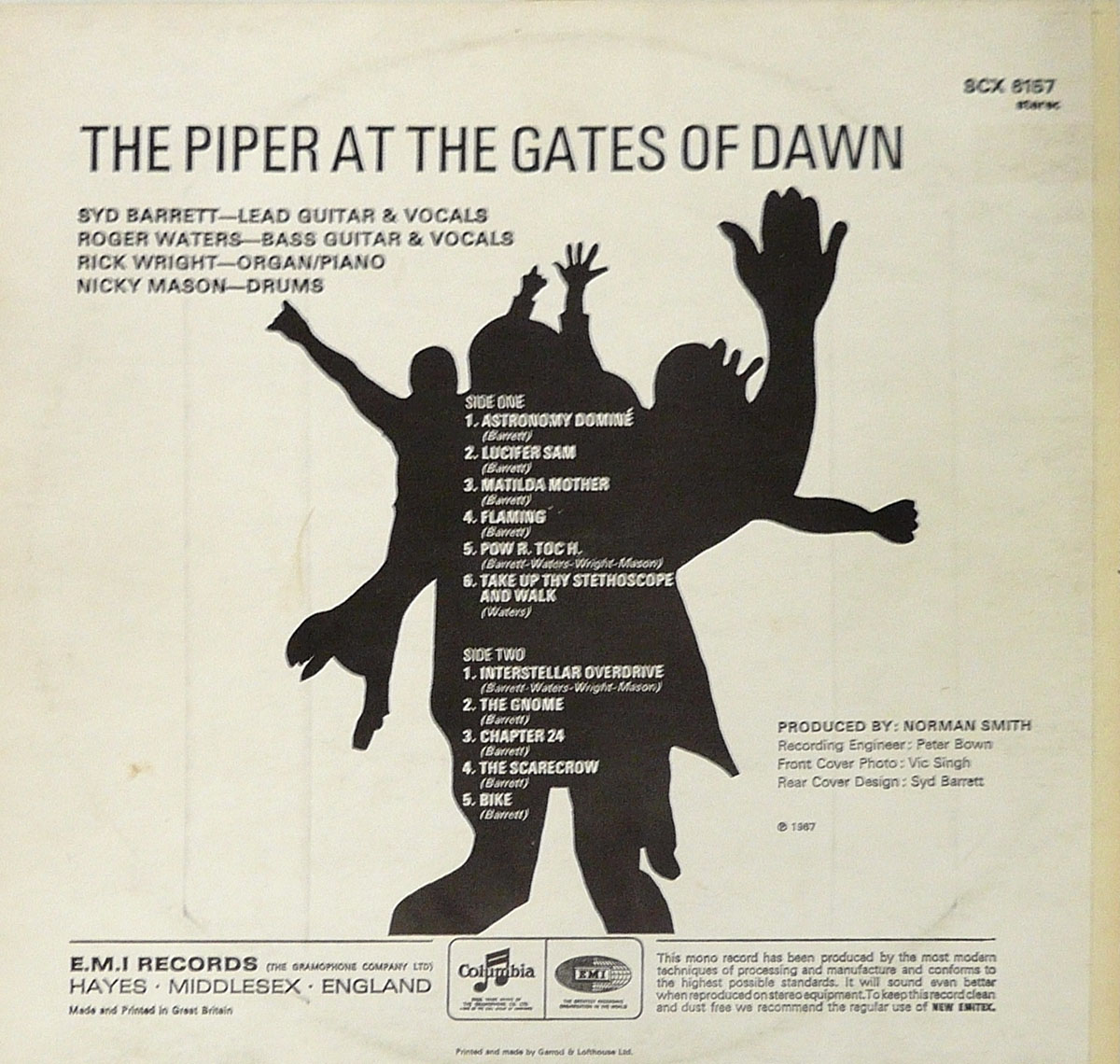 High Resolution Photo #2 PINK FLOYD Piper Gates UK4