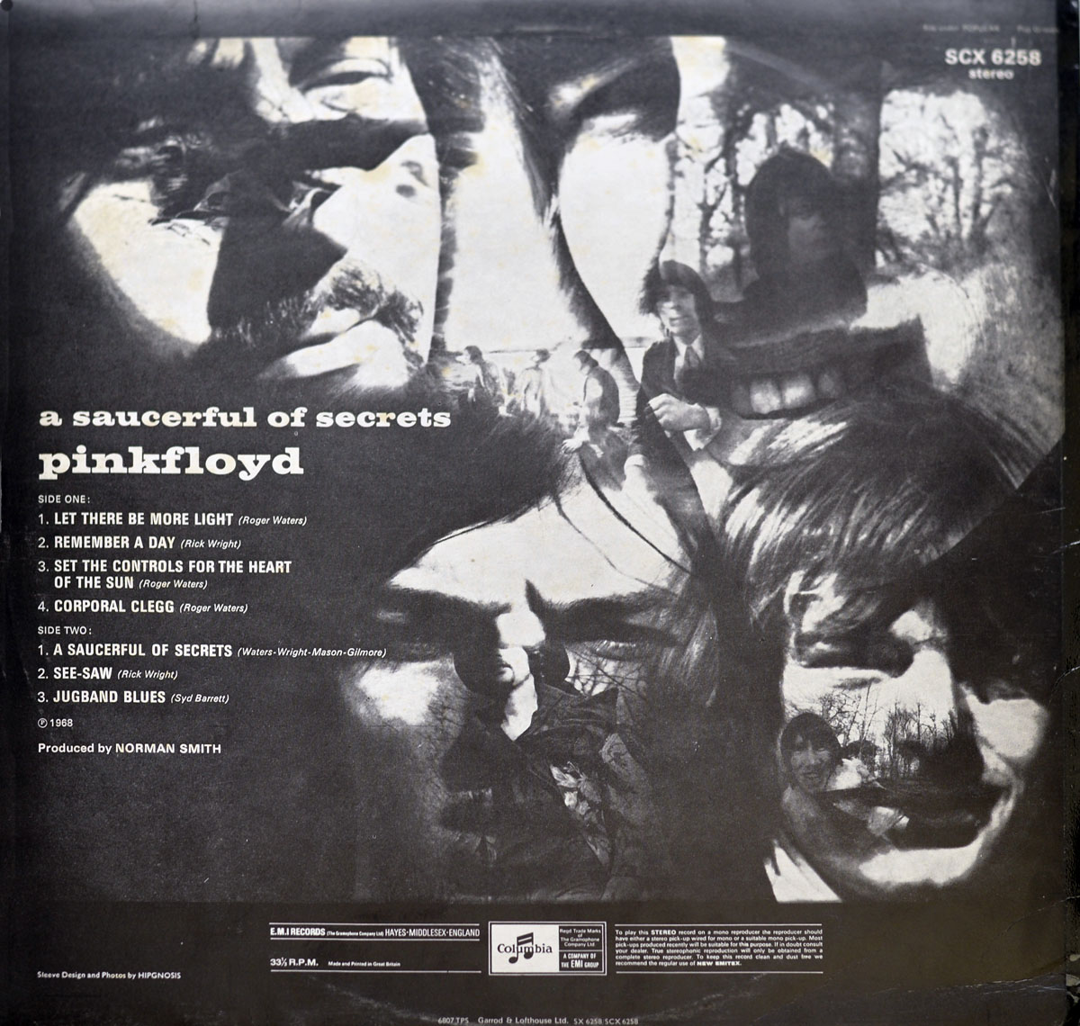 High Resolution Photo #2 PINK FLOYD Saucerful Secrets UK