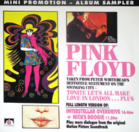 "PINK FLOYD - Tonite lets all make love in London  12"" LP"