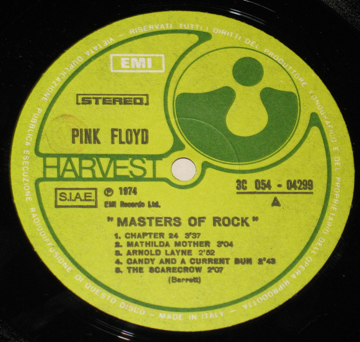 High Resolution Photo #3 PINK FLOYD Masters Rock Italy