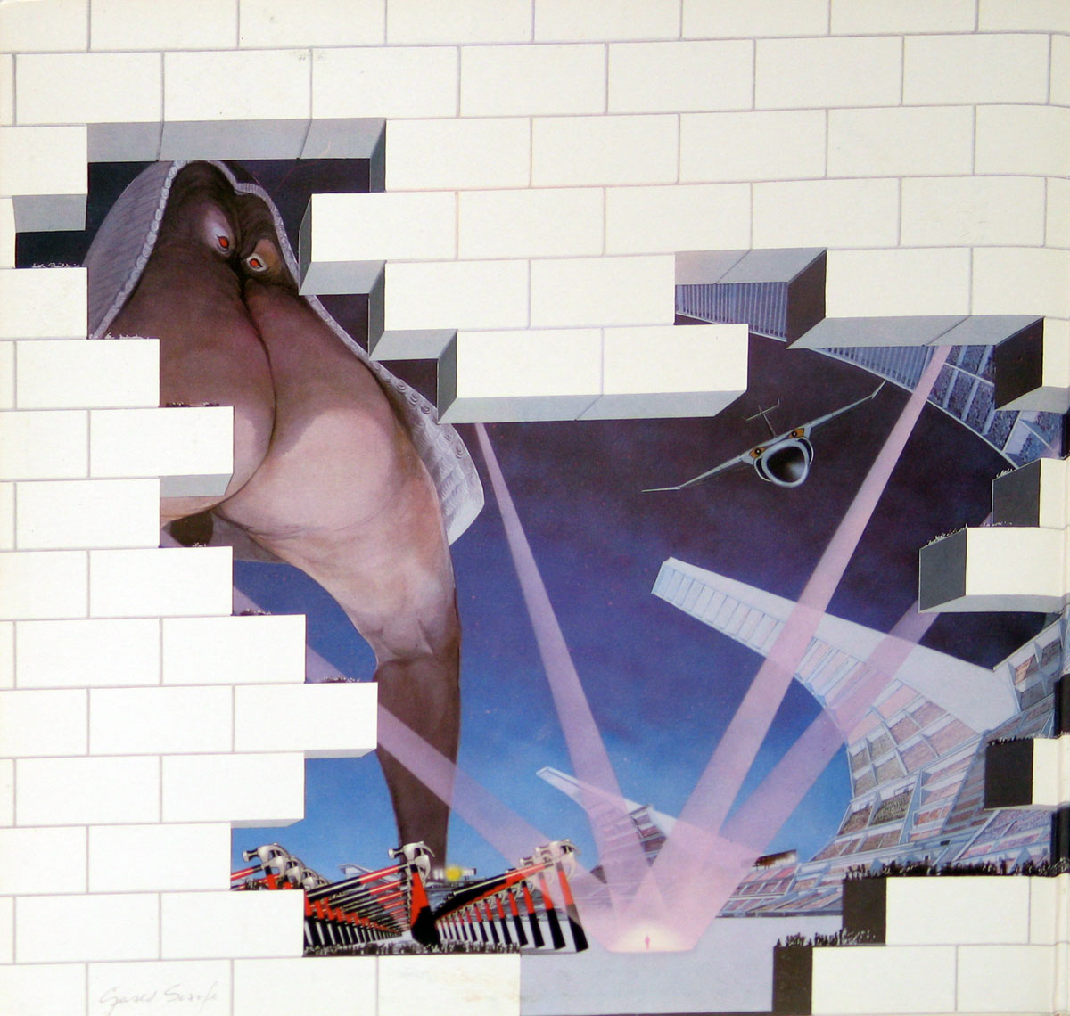 High Resolution Photo #2 PINK FLOYD Wall Italy