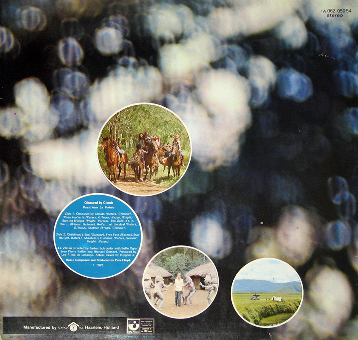 High Resolution Photo #2 PINK FLOYD Obscured Clouds Netherlands