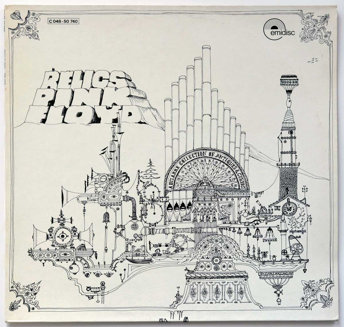Front Cover Photo Of PINK FLOYD - Relics Netherlands