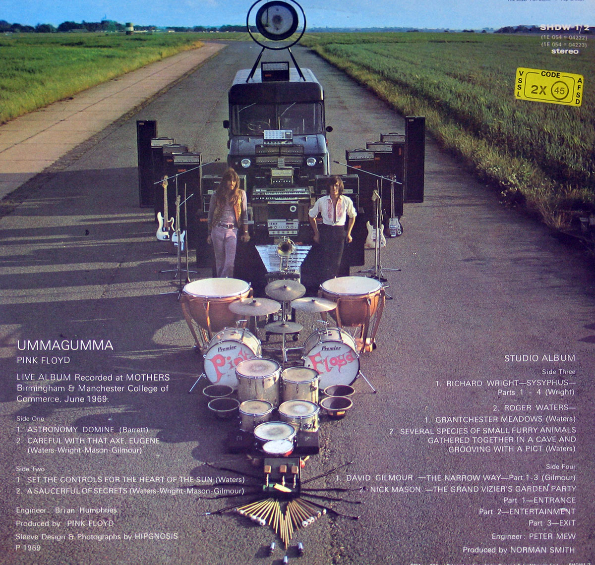 High Resolution Photo #2 PINK FLOYD Umma Gumma UK