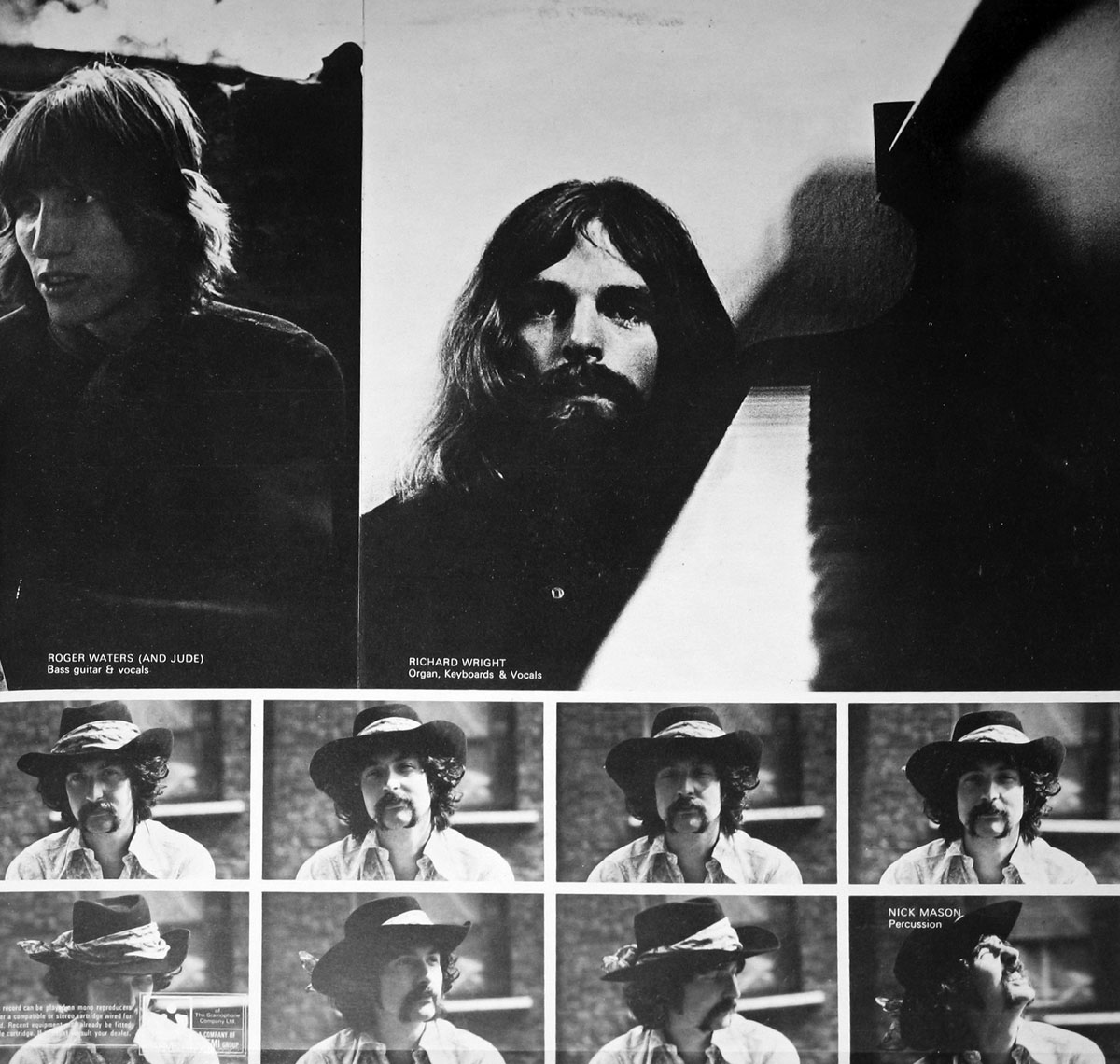 High Resolution Photo #4 PINK FLOYD Umma Gumma UK