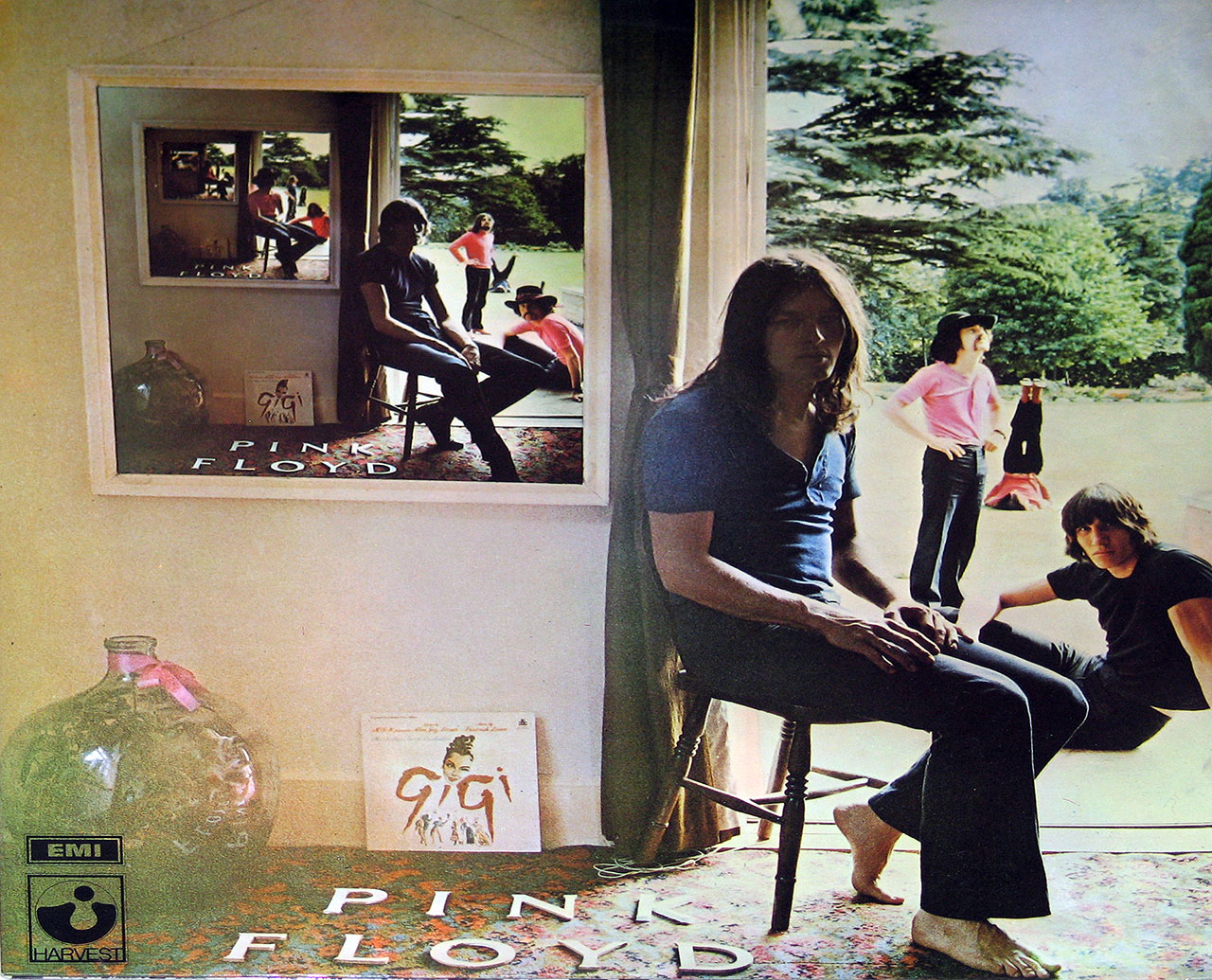 Album Front Cover Photo of PINK FLOYD UmmaGumma