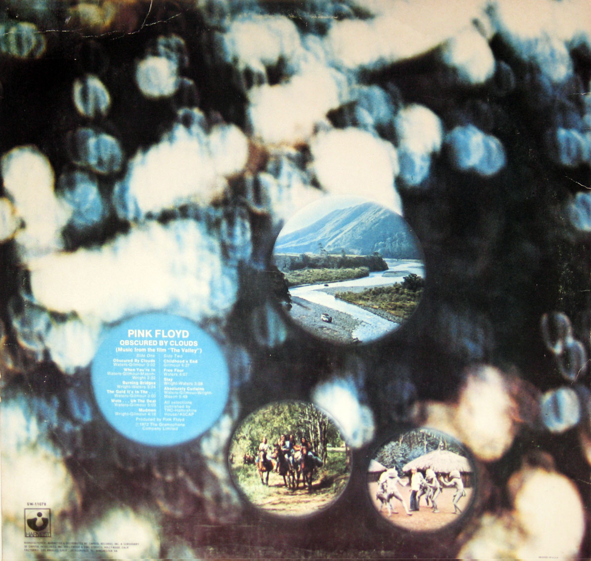 High Resolution Photo #2 PINK FLOYD Obscured Clouds USA