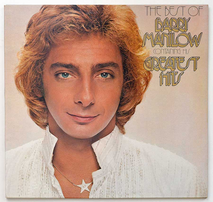 High Resolution Photo Album Front Cover of BARRY MANILOW - The Best of Barry Manilow https://vinyl-records.nl