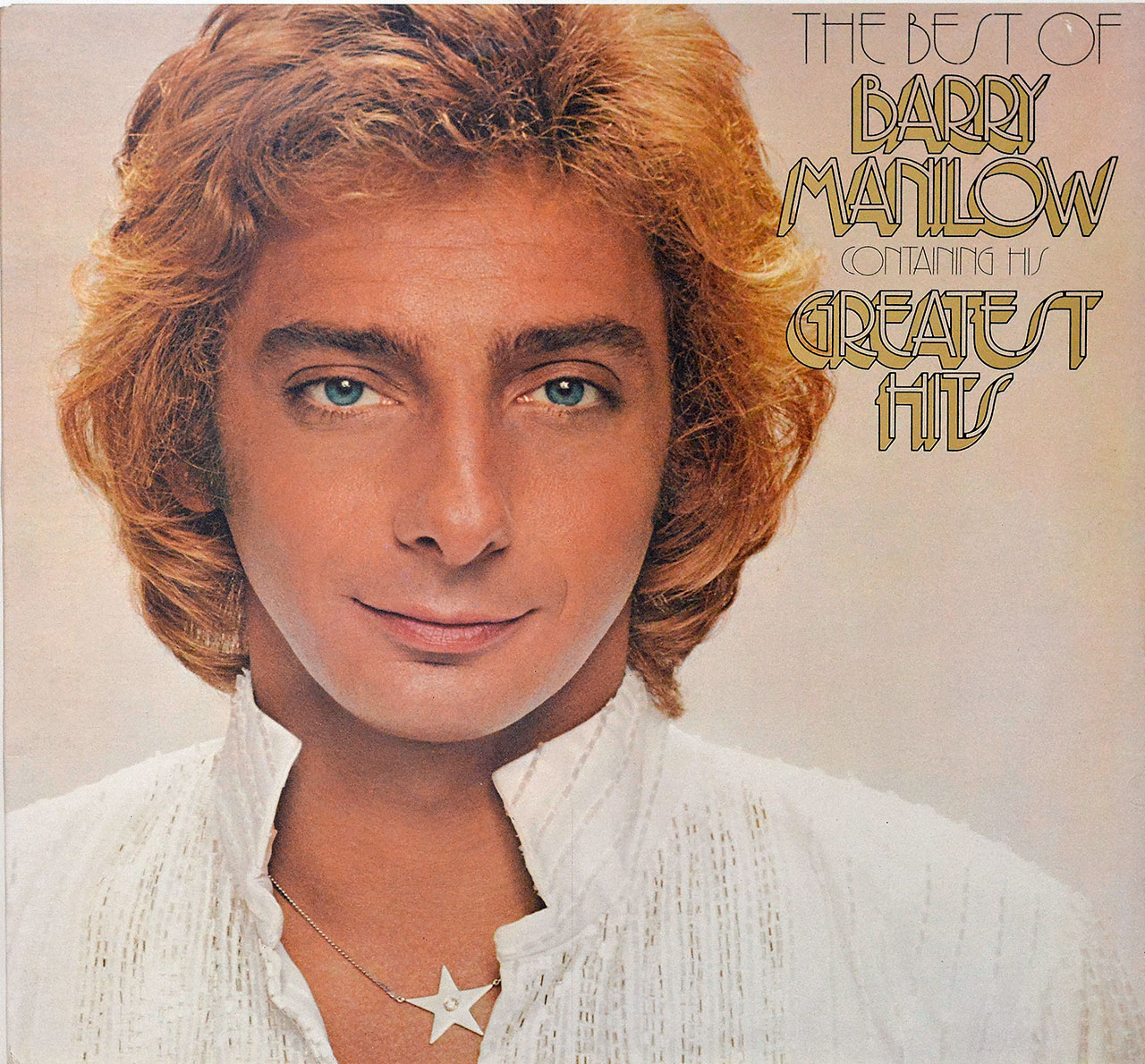 Album Front Cover Photo of BARRY MANILOW - The Best of Barry Manilow