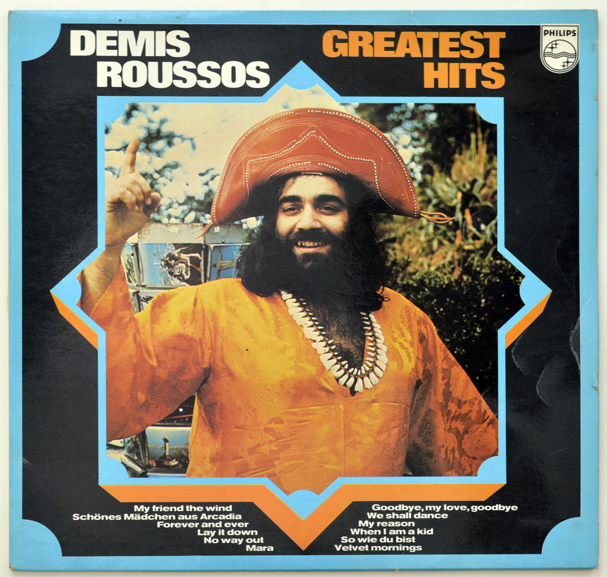 Front Cover Photo Of DEMIS ROUSSOS - Greatest Hits VINYL LP