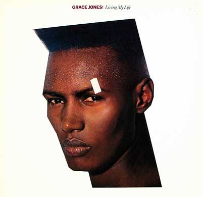 Thumbnail of GRACE JONES - Living My Life album front cover