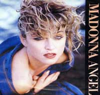 "MADONNA Angel 7"" Picture Sleeve"