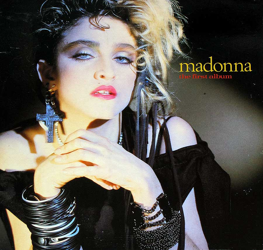 large photo of the album front cover of: MADONNA  THE FIRST ALBUM  Release 12