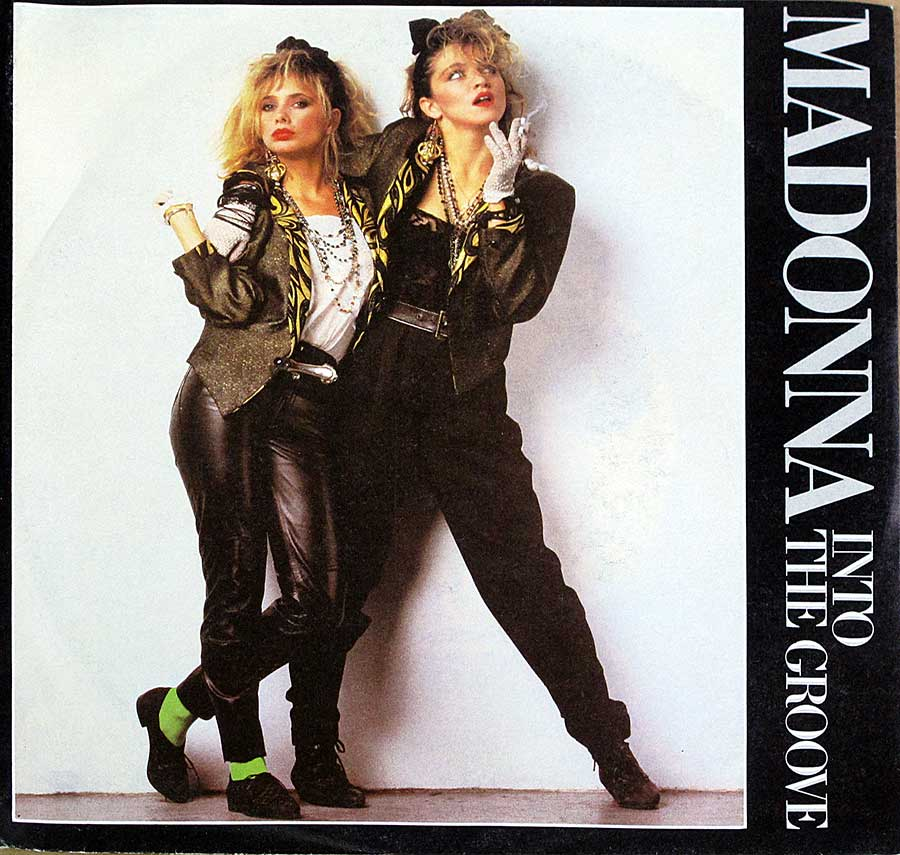 "Front Cover Photo Of MADONNA - Into The Groove / Shoo-Bee-Doo 7"" 45RPM PS Single Vinyl"