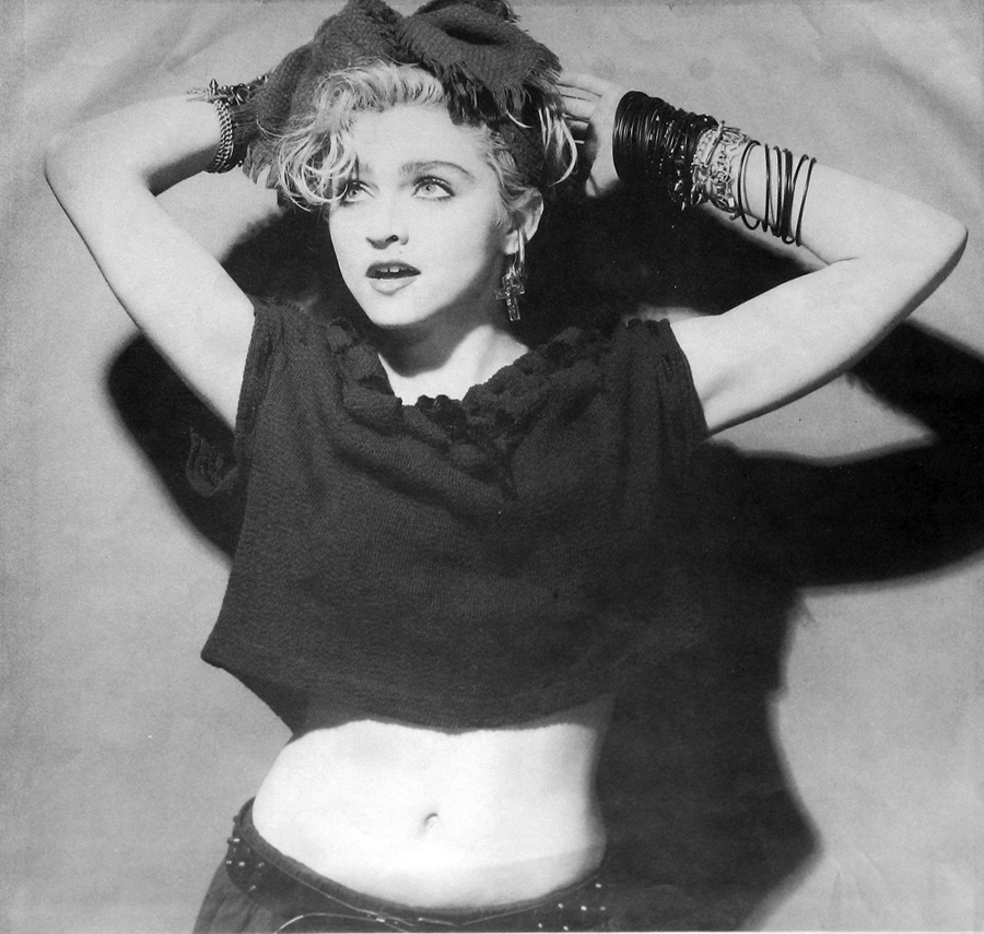 Photo of Madonna - self-titled first album Album's Inner Cover