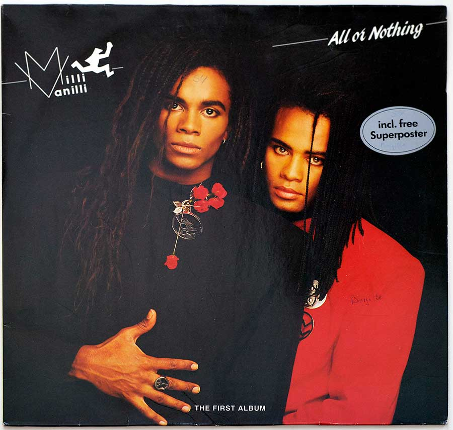 Album Front Cover Photo of MILLI VANILLI - All Or Nothing ( The First Album )