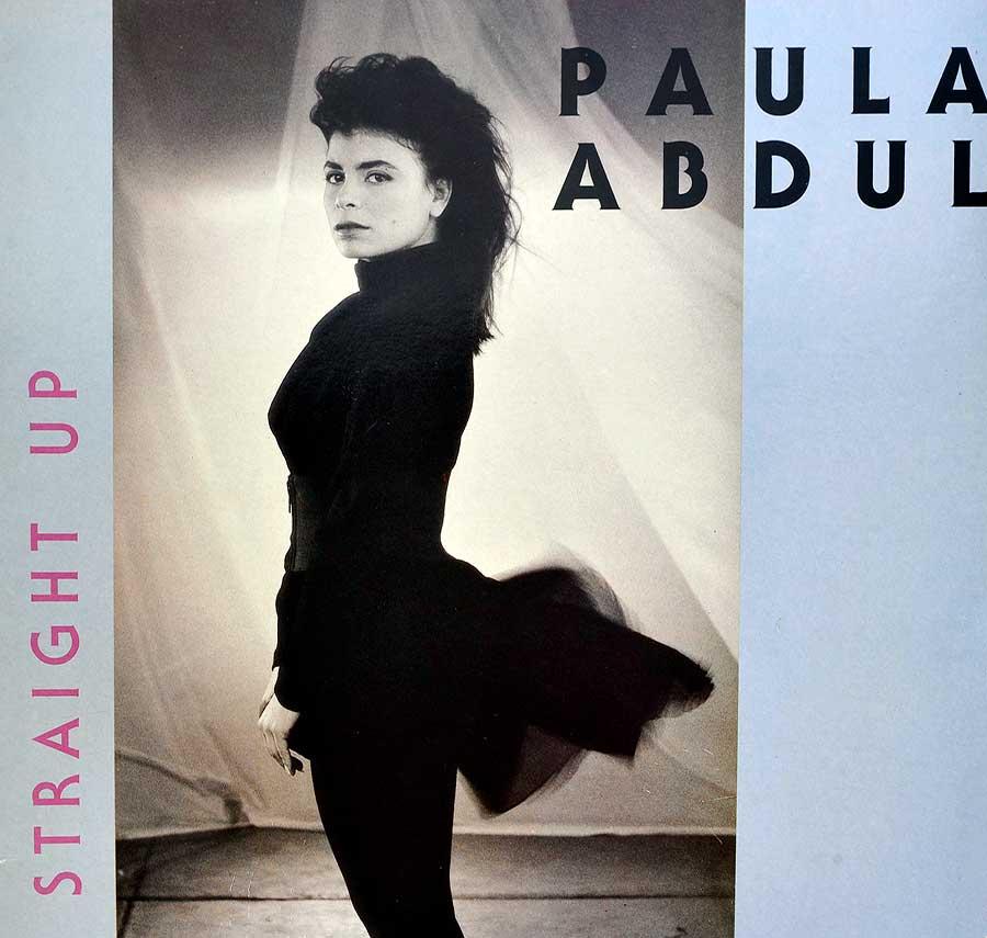 "Front Cover Photo Of PAULA ABDUL - Straight Up 12"" Maxi Vinyl"