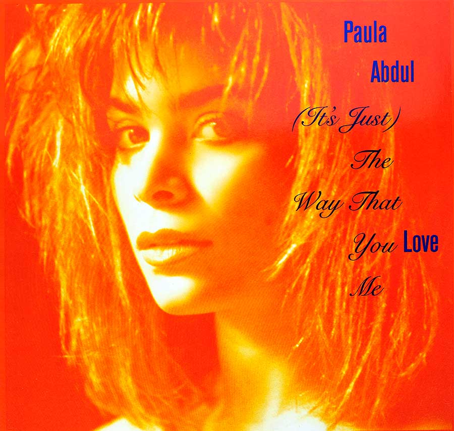 Album Front Cover Photo of PAULA ABDUL - Way That You Love Me