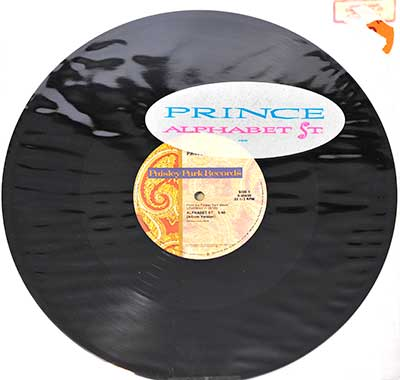 Thumbnail Of  PRINCE - Alphabet Street  album front cover