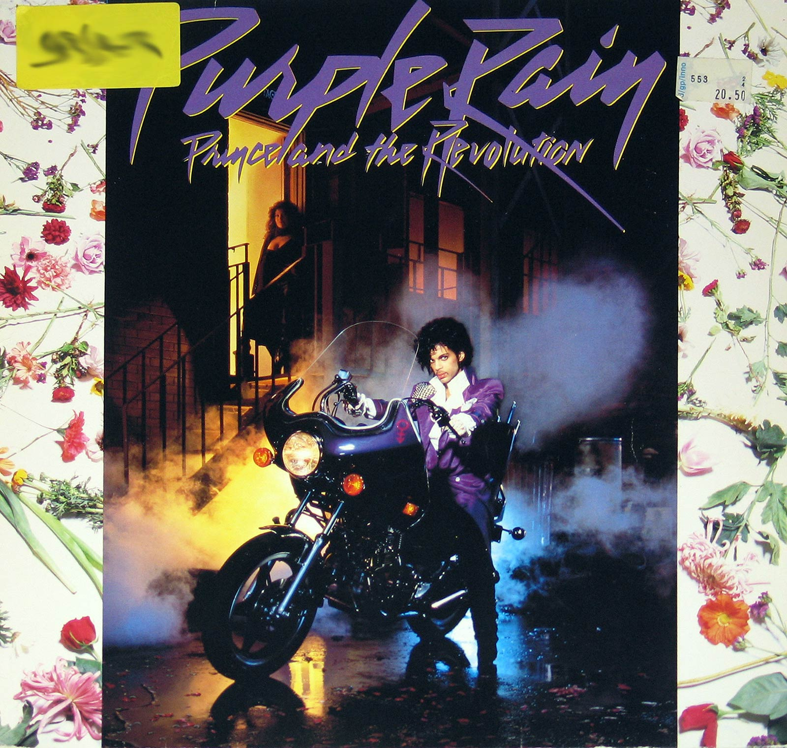 large photo of the album front cover of: Purple Rain by Prince and the Revolution