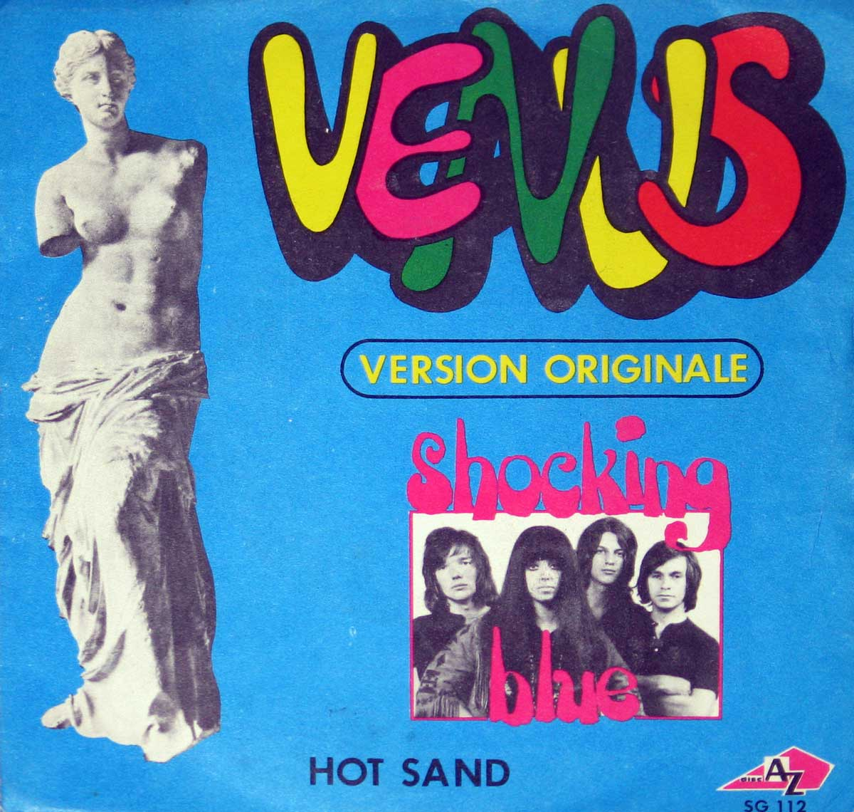 large photo of the album front cover of: Shocking Blue Venus / Hot Sand