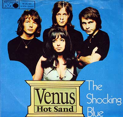 Thumbnail of SHOCKING BLUE - Venus / Hot Sand album front cover