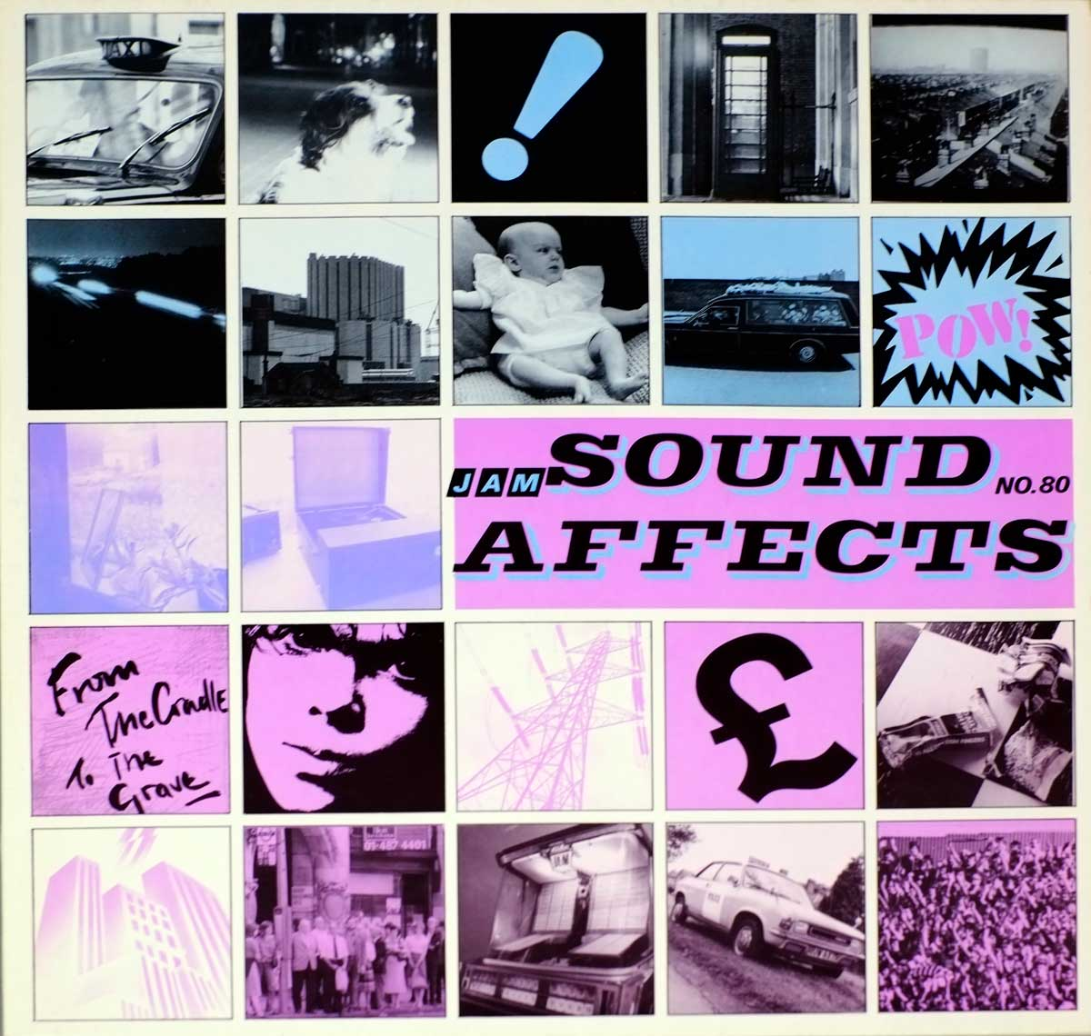 Album Front Cover Photo of THE JAM SOUND AFFECTS