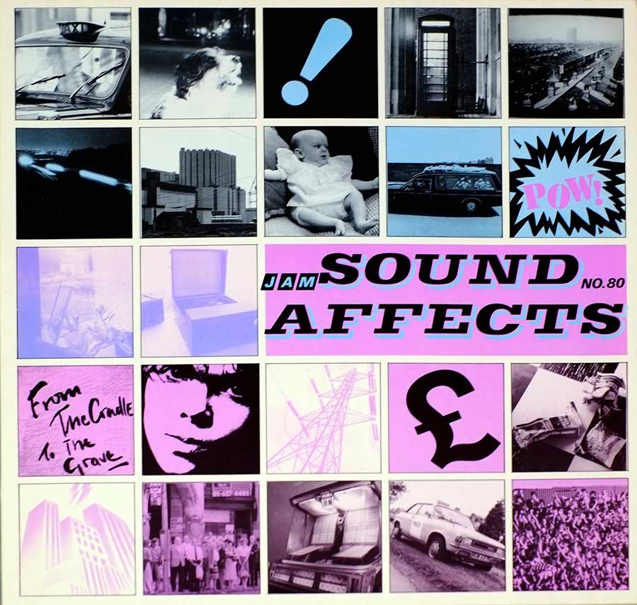 "THE JAM - Sound Affects 12"" Vinyl LP Album  front cover https://vinyl-records.nl"