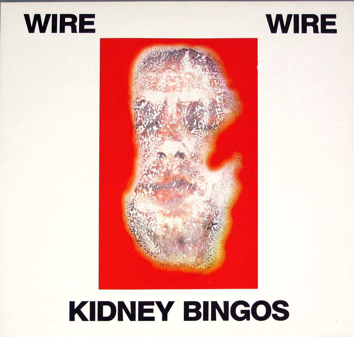 "High Quality Photo of Album Front Cover  ""WIRE - Kidney Bingos"""