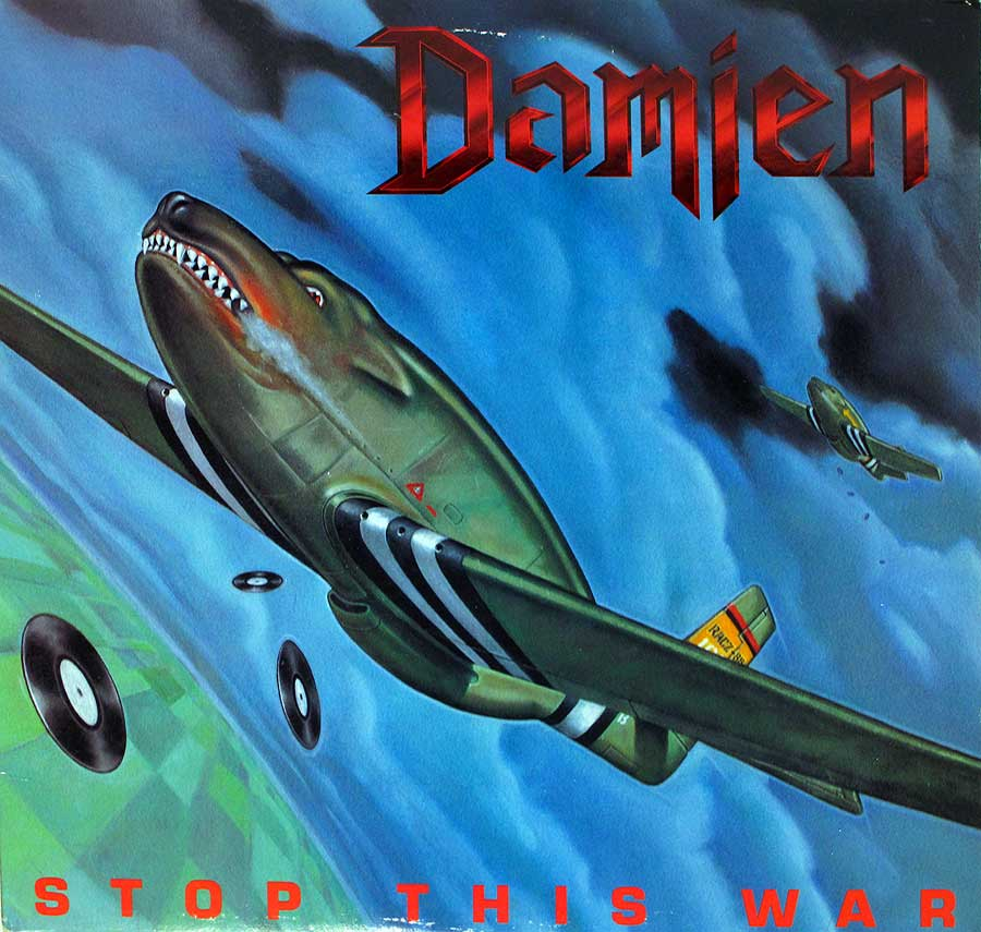 large photo of the album front cover of: DAMIEN - Stop This War