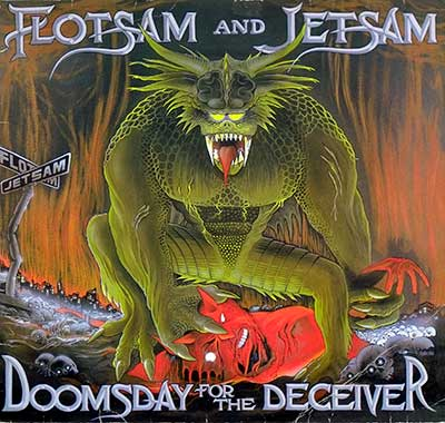 "Thumbnail Of  FLOTSAM AND JETSAM Doomsday For The Deceiver 12"" LP album front cover"