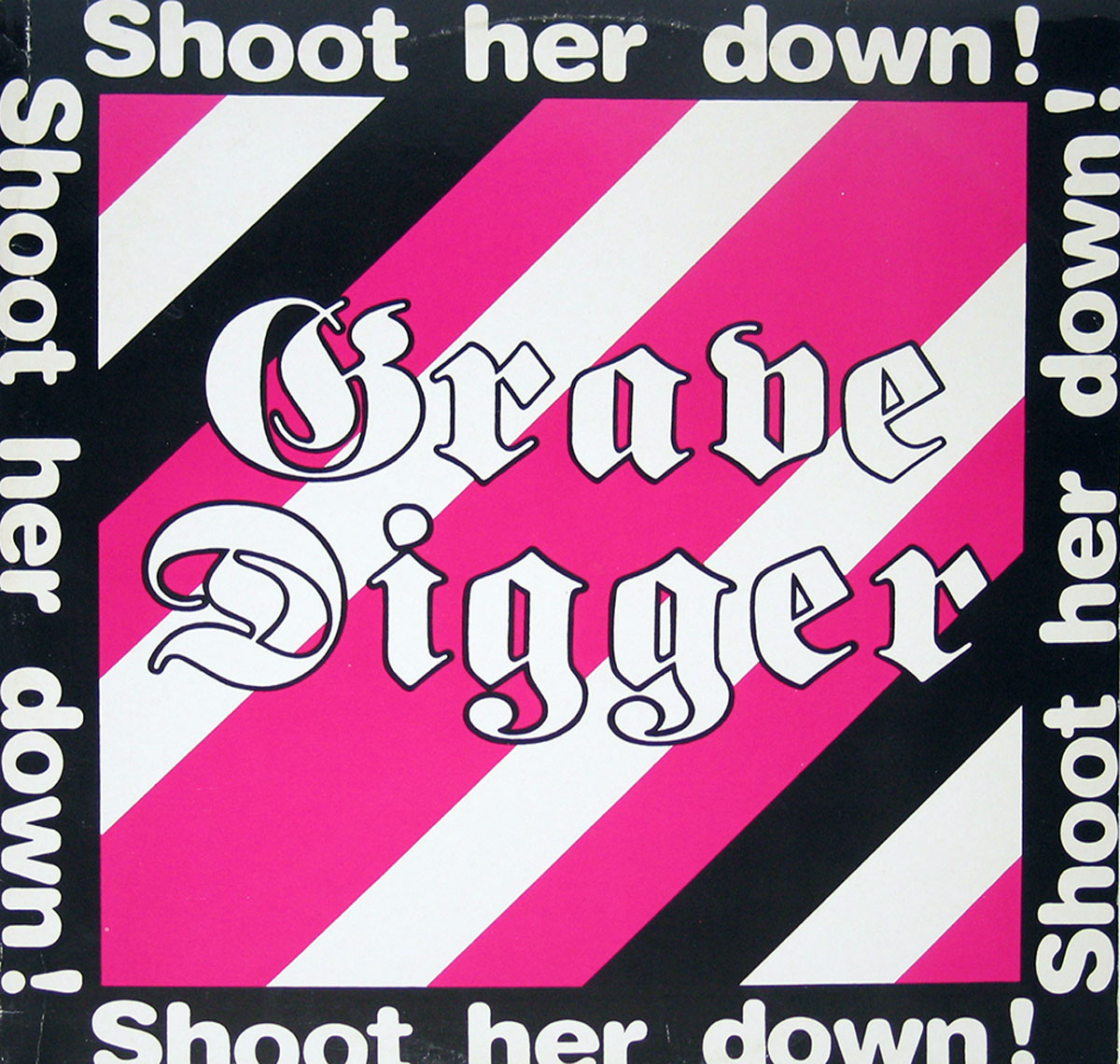 High Resolution Photo #1 grave digger shoot her down