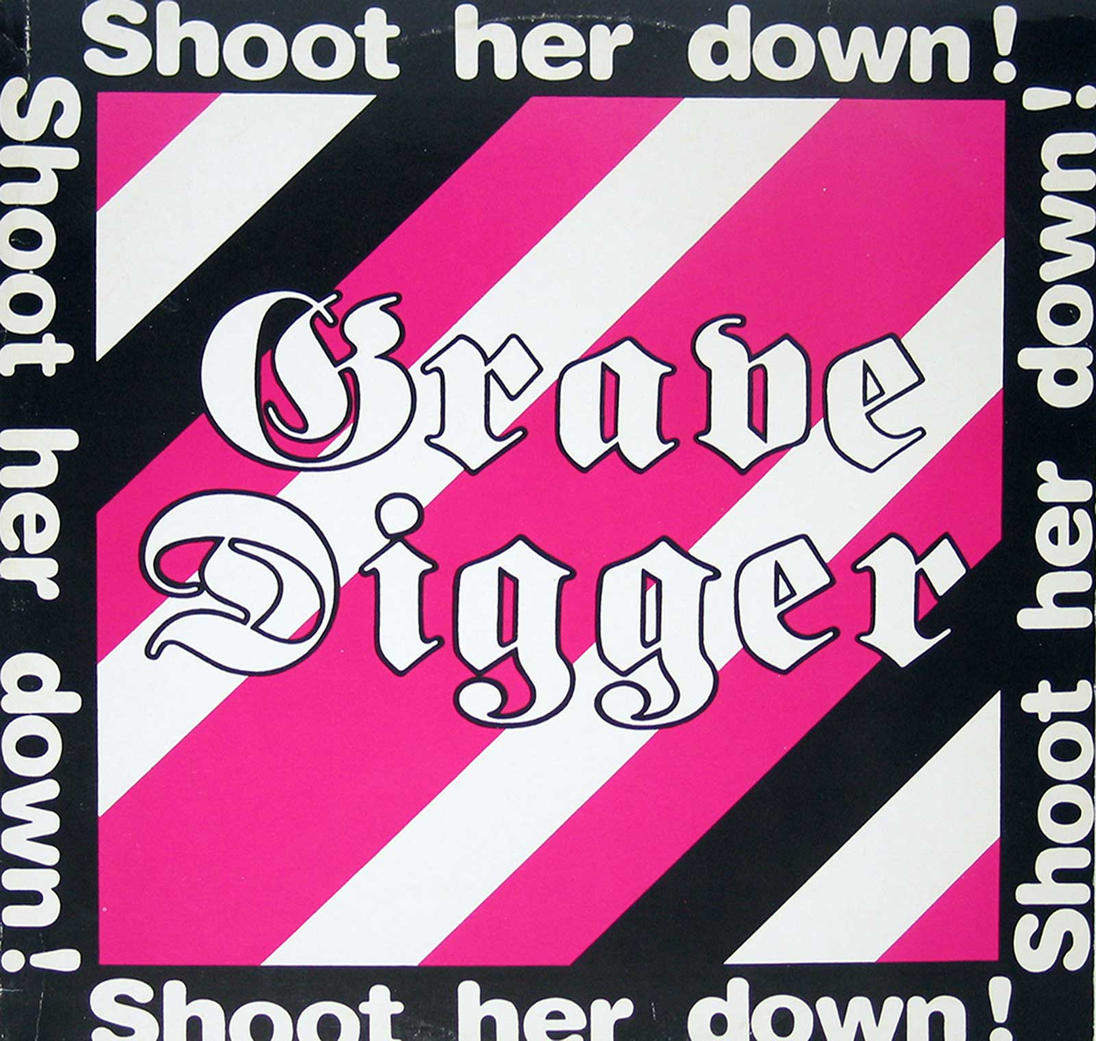 large photo of the album front cover of: Shoot Her Down by Grave Digger