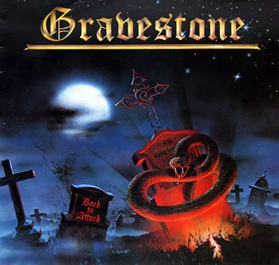 "Thumbnail Of  GRAVESTONE - Back to Attack 12"" Vinyl LP album front cover"