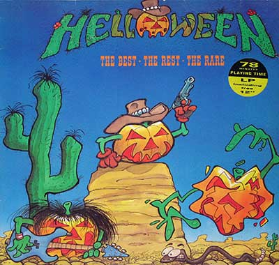 "Thumbnail of HELLOWEEN - The Best The Rest The Rare incl free 12"" Record album front cover"