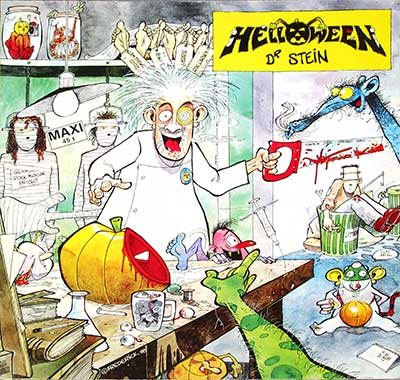 Thumbnail of HELLOWEEN - Dr Stein Accord France album front cover