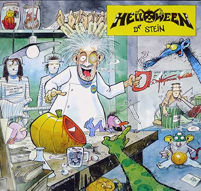 "Thumbnail of HELLOWEEN - Dr Stein 12"" Maxi-Single  album front cover"
