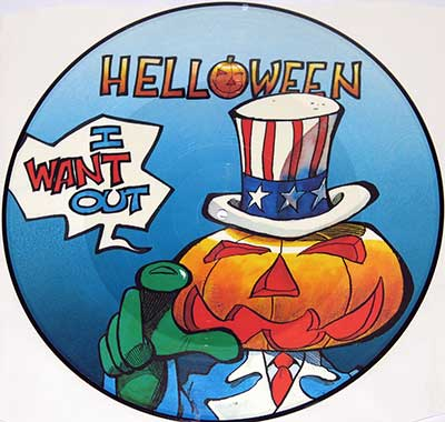 Thumbnail of HELLOWEEN - I Want Out Picture Disc  album front cover