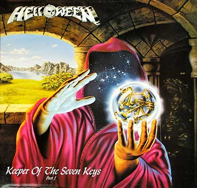 "Thumbnail of HELLOWEEN - Keepers of the Seven Keys Part I France Gatefold 12"" Vinyl LP Album album front cover"