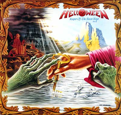 "Thumbnail of HELLOWEEN - Keeper of the Seven Keys Part II France 12"" Vinyl LP Album album front cover"
