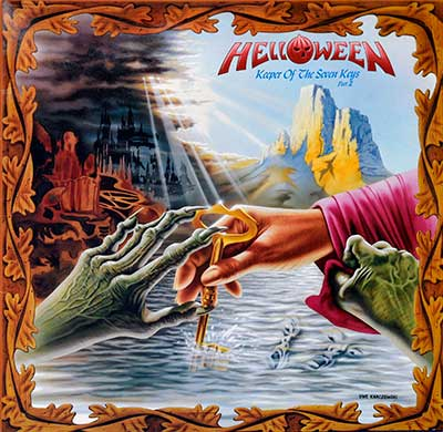 "Thumbnail of HELLOWEEN - Keeper of the Seven Keys Part II 12"" Vinyl LP Album album front cover"