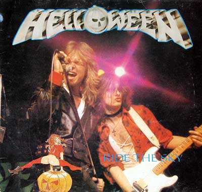 Thumbnail of HELLOWEEN - Ride The Sky Live Tilburg Red Vinyl album front cover
