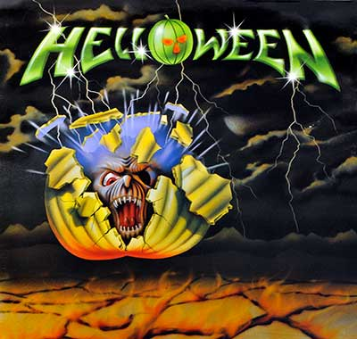Thumbnail of HELLOWEEN - Self-Titled Debut Album Mini-LP album front cover