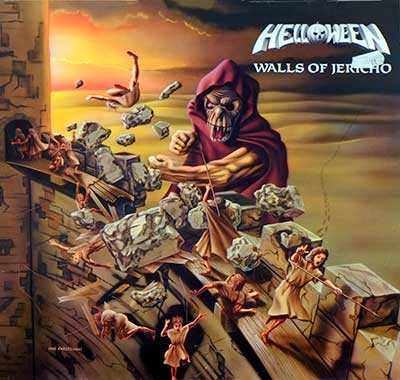 "Thumbnail of HELLOWEEN - Walls of Jericho 12"" Vinyl LP Album album front cover"