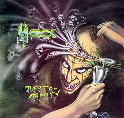 Thumbnail of HEXX - Quest for Sanity album front cover