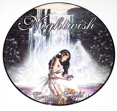 "Thumbnail of NIGHTWISH - Century Child 12"" Picture Disc  album front cover"